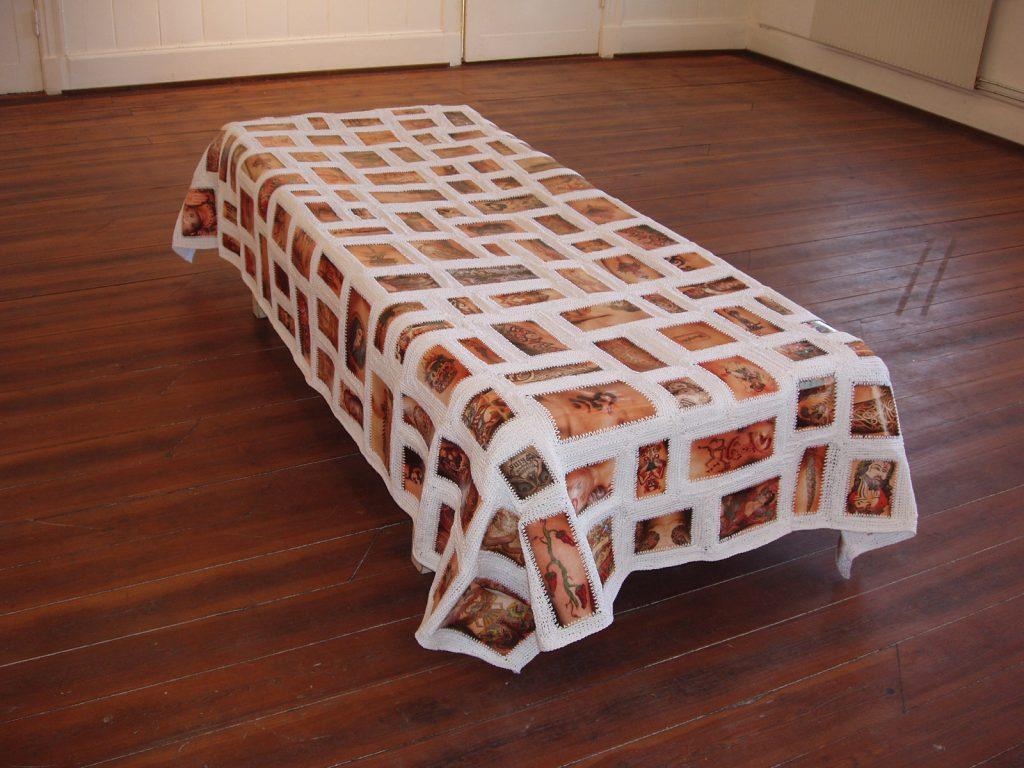 Decke - Bilder von tätowierter Haut